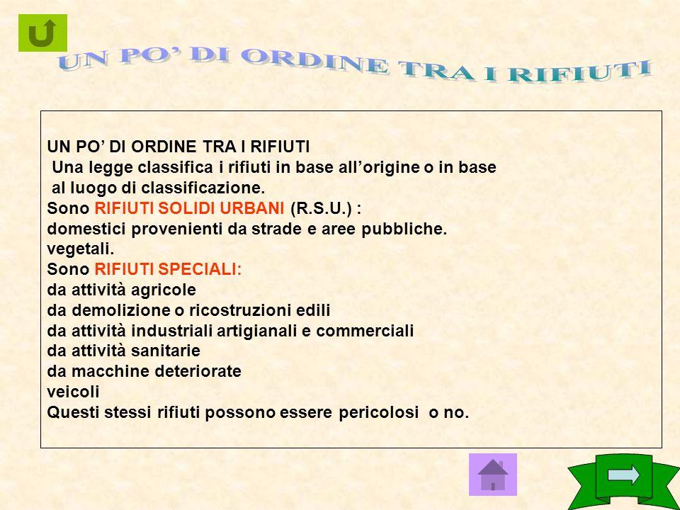 Cosa cè nella pattumiera degli italiani? Indagine statistica sulla composizione dei rifiuti urbani sul territorio nazionale italiano.