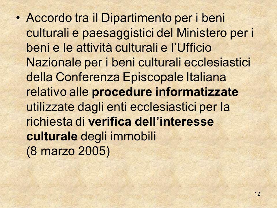 11 LEGISLAZIONE CIVILE D. Lgs. 22 gennaio 2004, n. 42 Codice dei beni culturali e del paesaggio [ Codice Urbani ] Disposizioni correttive: 24 marzo 20