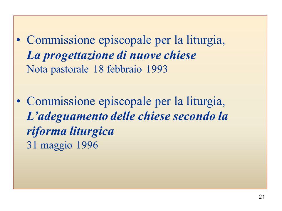20 Commissione episcopale per la liturgia, Il rinnovamento liturgico in Italia, Nota pastorale a ventanni dalla Costituzione conciliare «Sacrosanctum