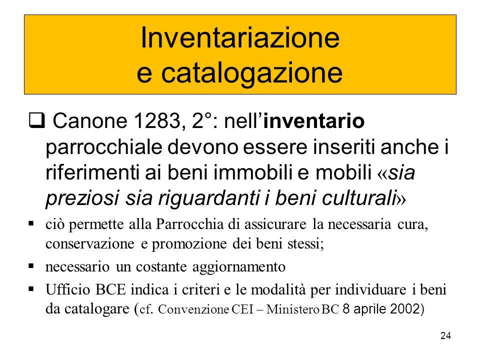 23 2 Interventi sui Beni Culturali Ecclesiastici