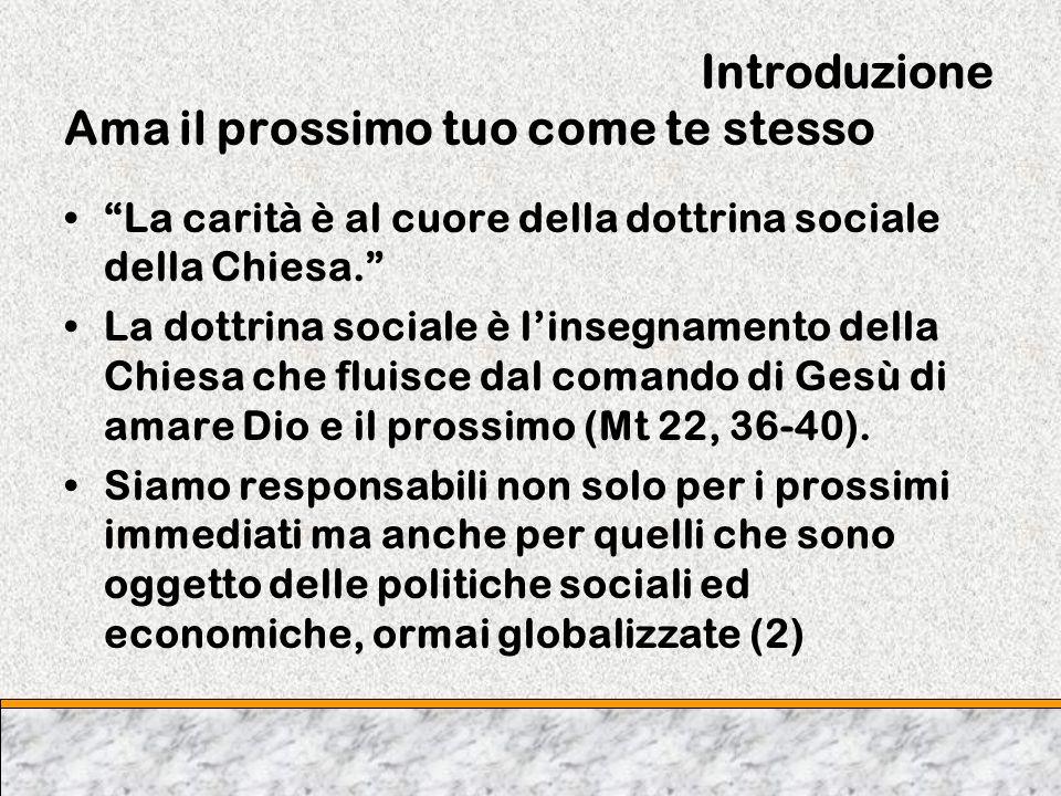 Capitolo Due Lo sviluppo nel nostro tempo Benedetto XVl applica i principi della Populorum Progressio ai nostri tempi.
