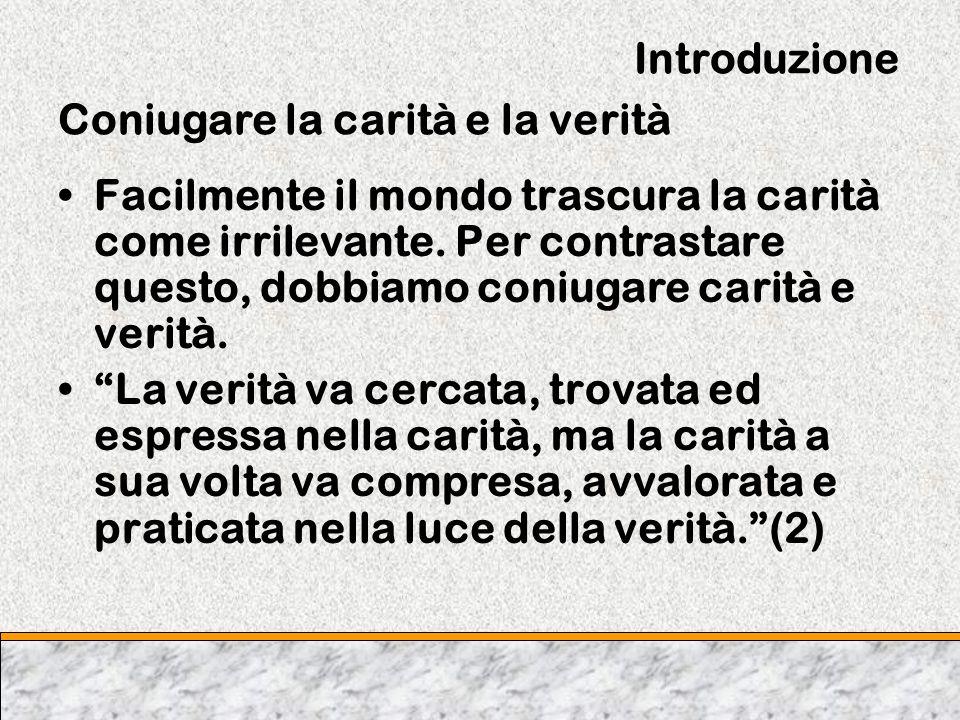 Capitolo Due Prime valutazioni di Benedetto XVI ll progresso cè.