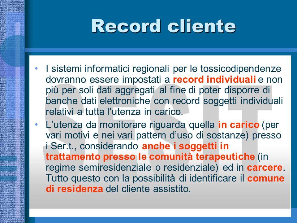 Densità prestazionale I trattamenti possono essere classificati anche in base alla densità prestazionale (n.
