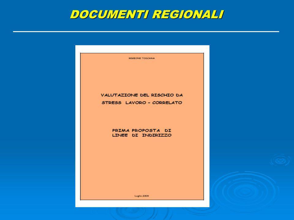 DOCUMENTI REGIONALI