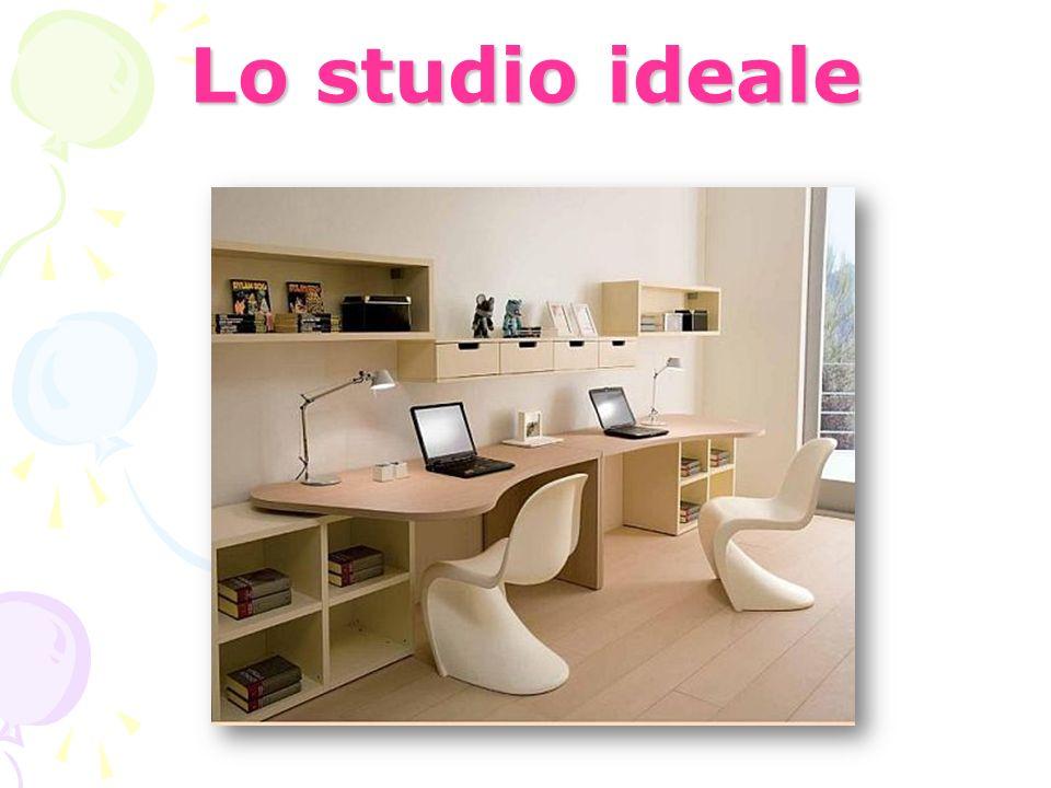 Lo studio ideale