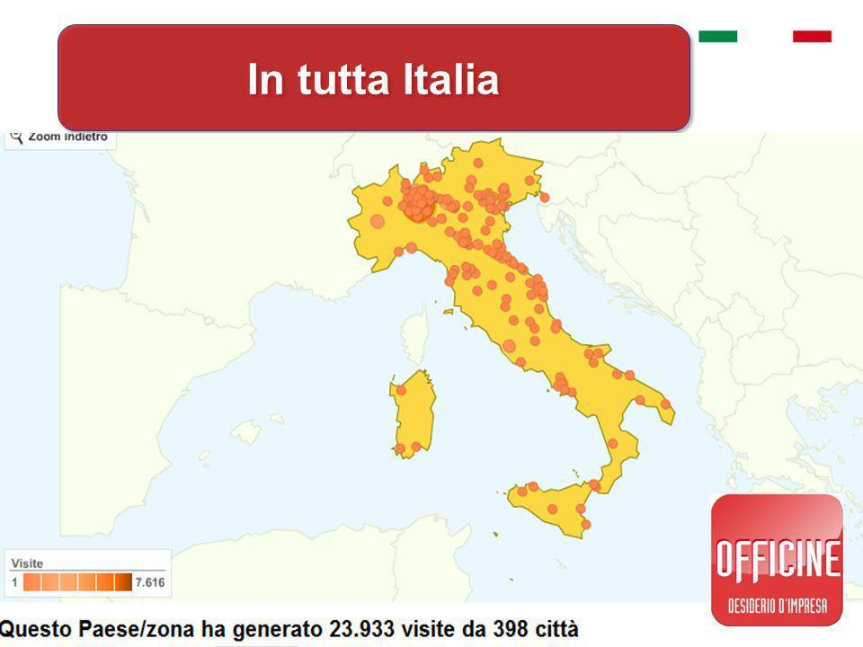 In tutta Italia In tutta Italia