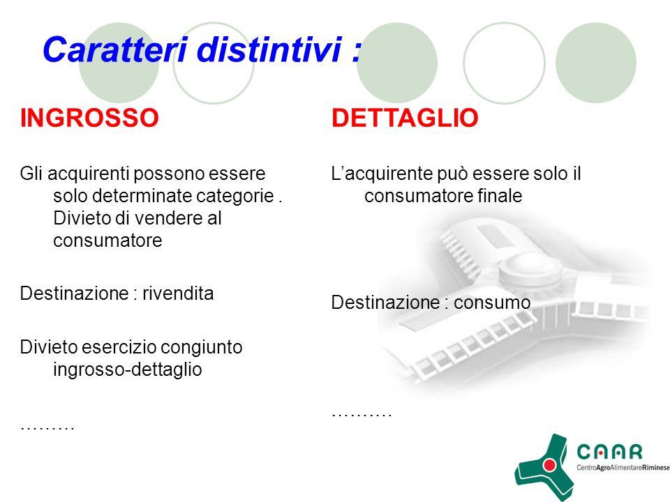 I Mercati allingrosso Finalità : consentire lo scambio delle merci Storicamente : approvvigionamento dei centri urbani.