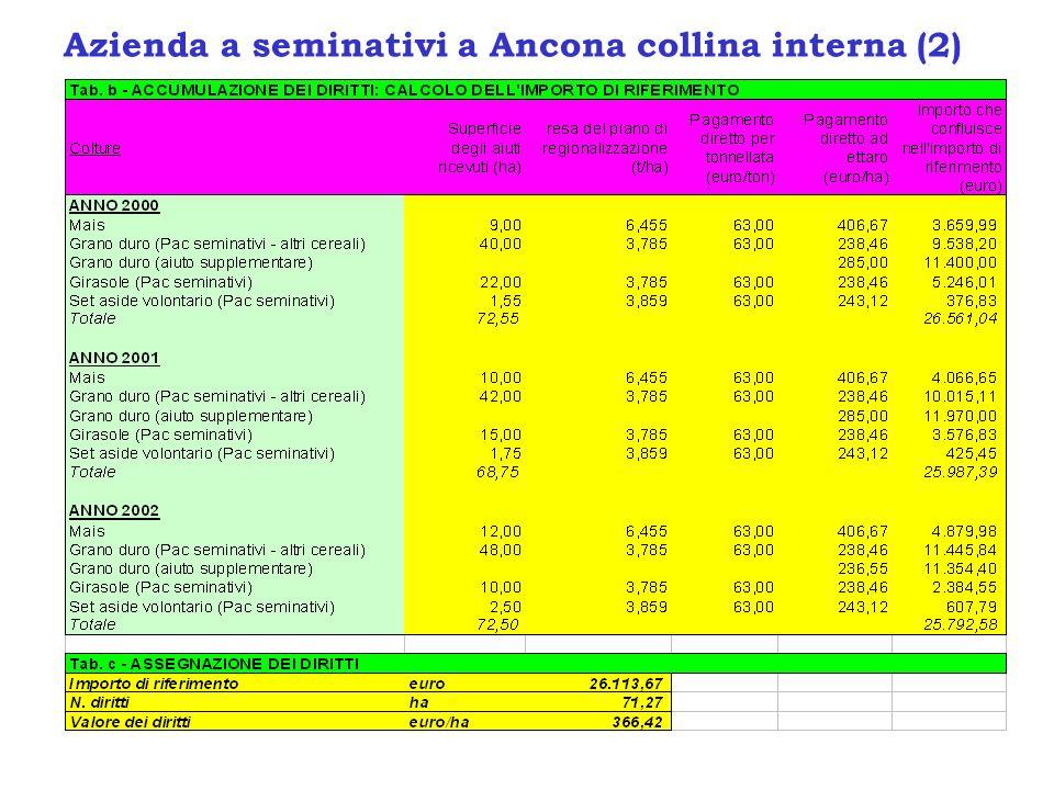 Azienda a seminativi a Ancona collina interna (2)