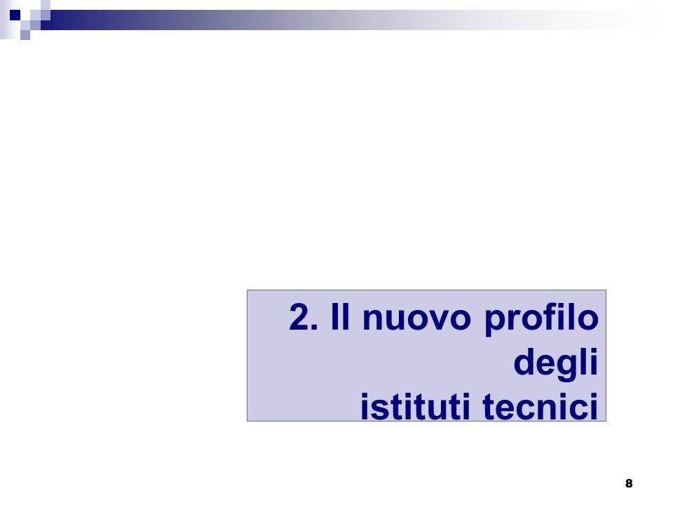 8 88 2. Il nuovo profilo degli istituti tecnici