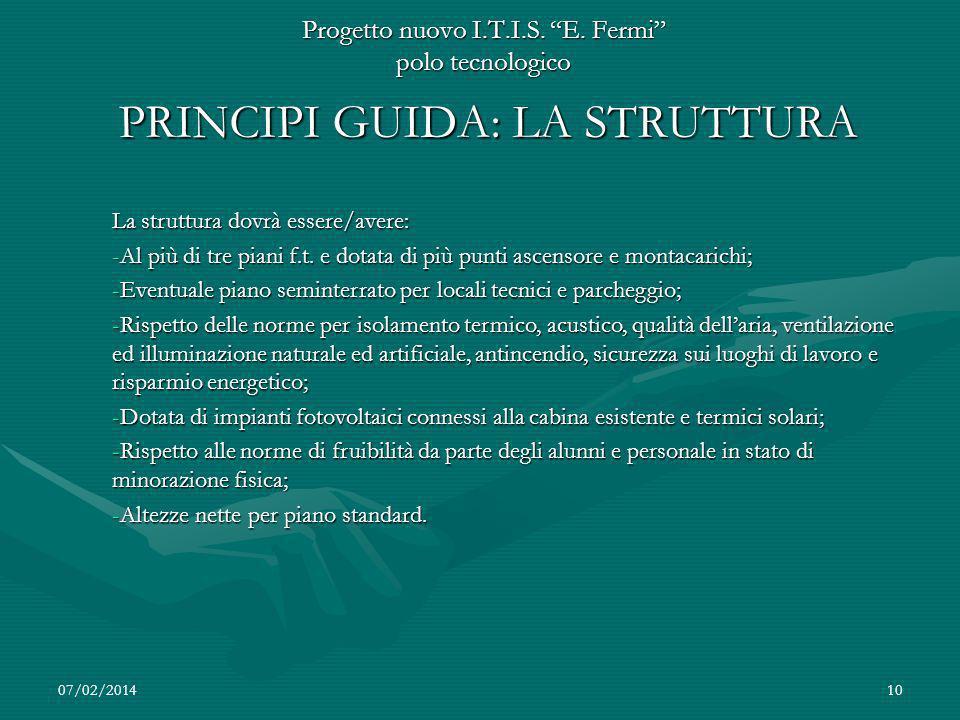 07/02/201410 Progetto nuovo I.T.I.S.E.
