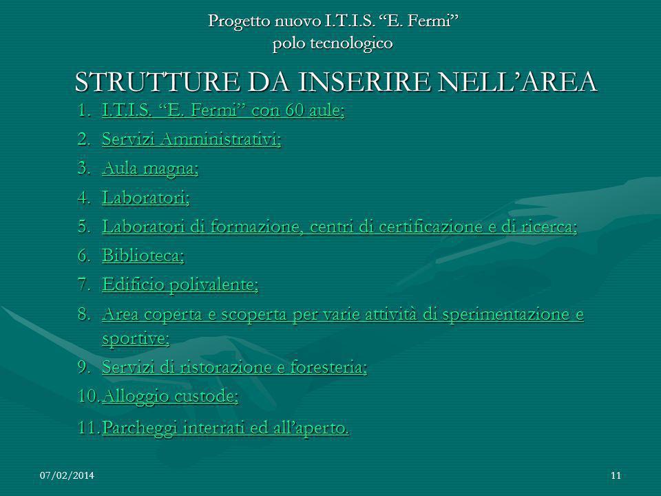 07/02/201411 Progetto nuovo I.T.I.S.E.