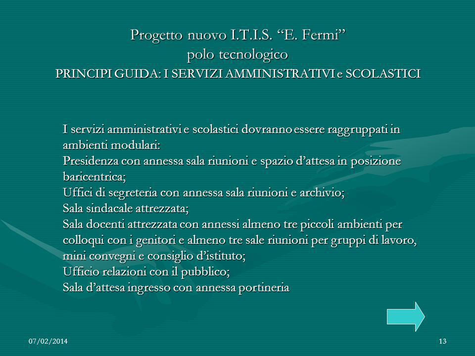 07/02/201413 Progetto nuovo I.T.I.S.E.