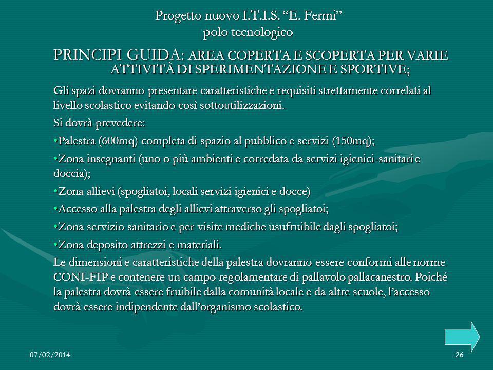 07/02/201426 Progetto nuovo I.T.I.S.E.