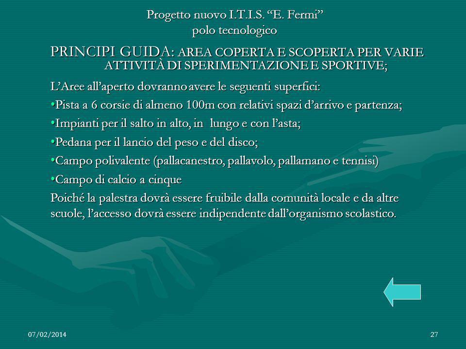 07/02/201427 Progetto nuovo I.T.I.S.E.
