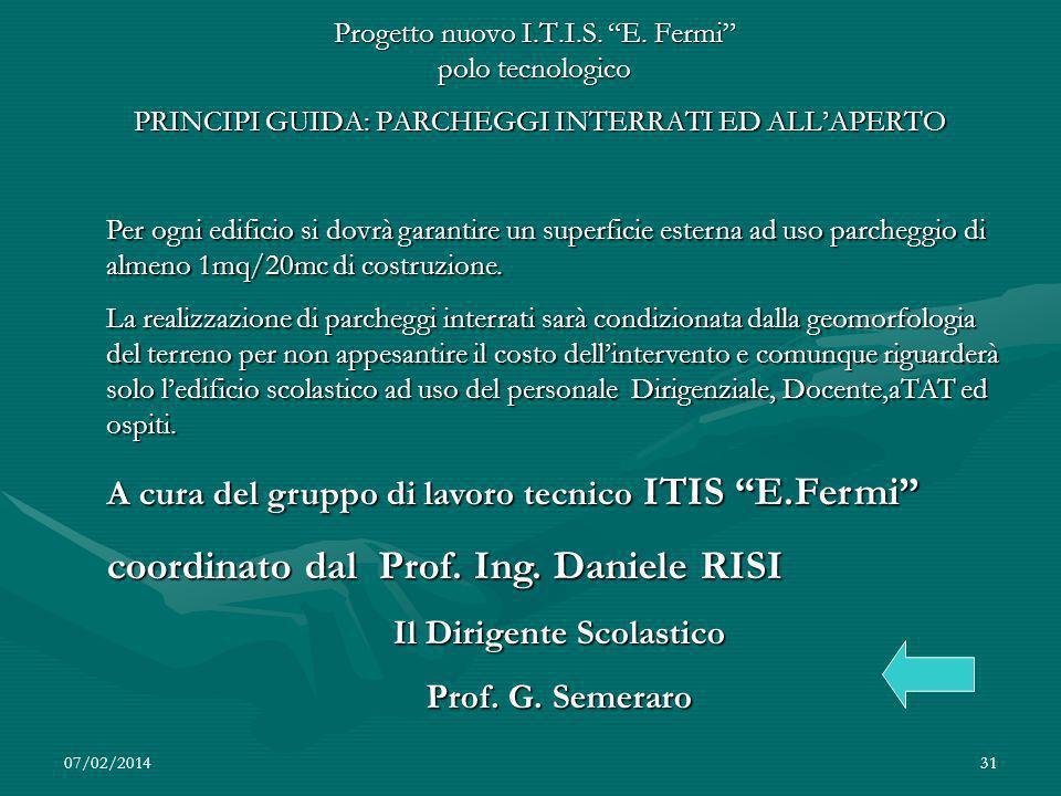 07/02/201431 Progetto nuovo I.T.I.S.E.