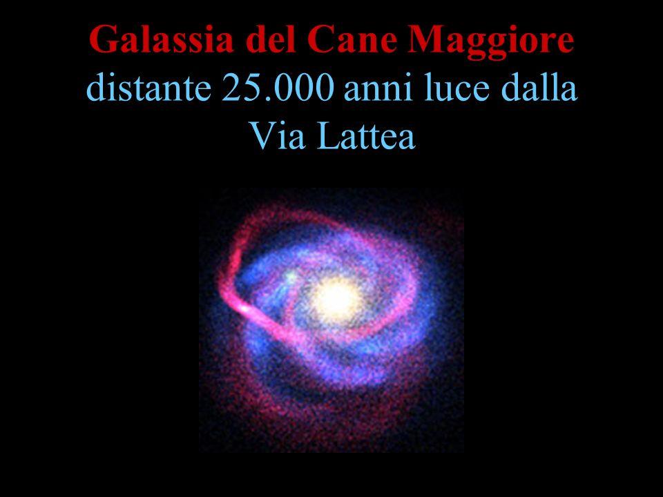 Galassia del Cane Maggiore distante 25.000 anni luce dalla Via Lattea