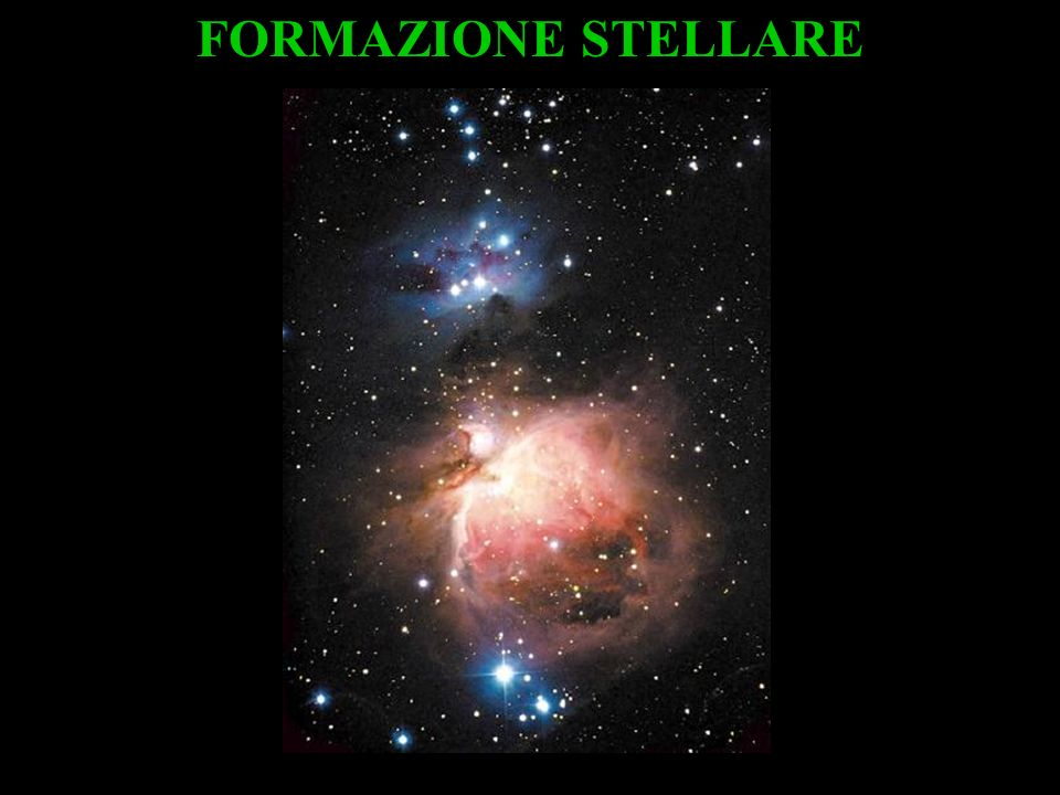 FORMAZIONE STELLARE