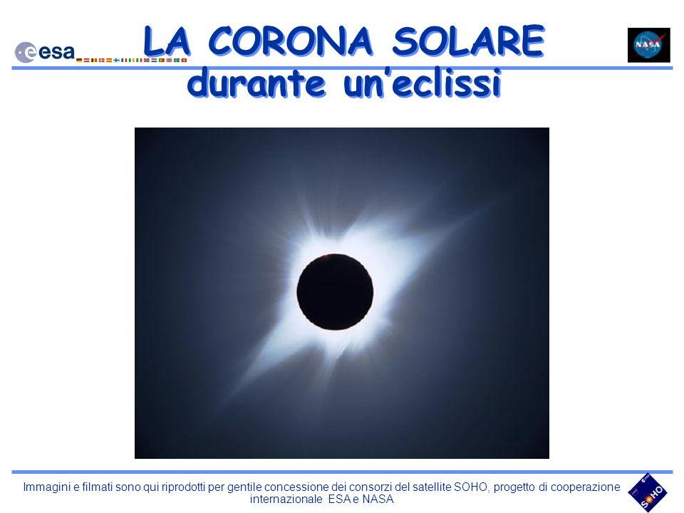 LA CORONA SOLARE durante uneclissi