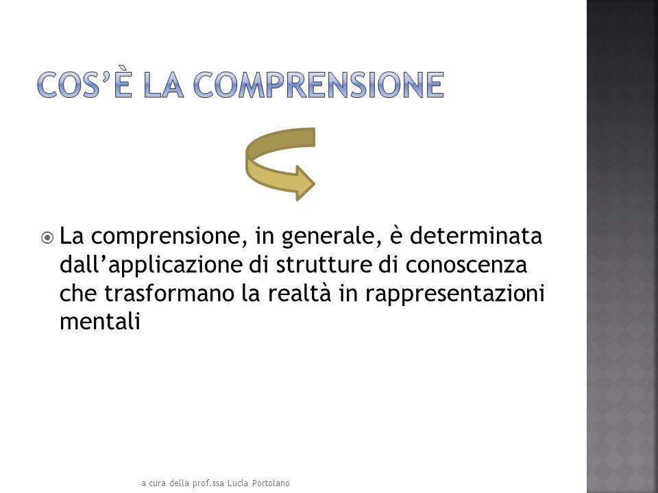 MONDO ESTERNO a cura della prof.ssa Lucia Portolano Rappresentazione mentale Elementi Conglomerati modelli convinzioni OGGETTI