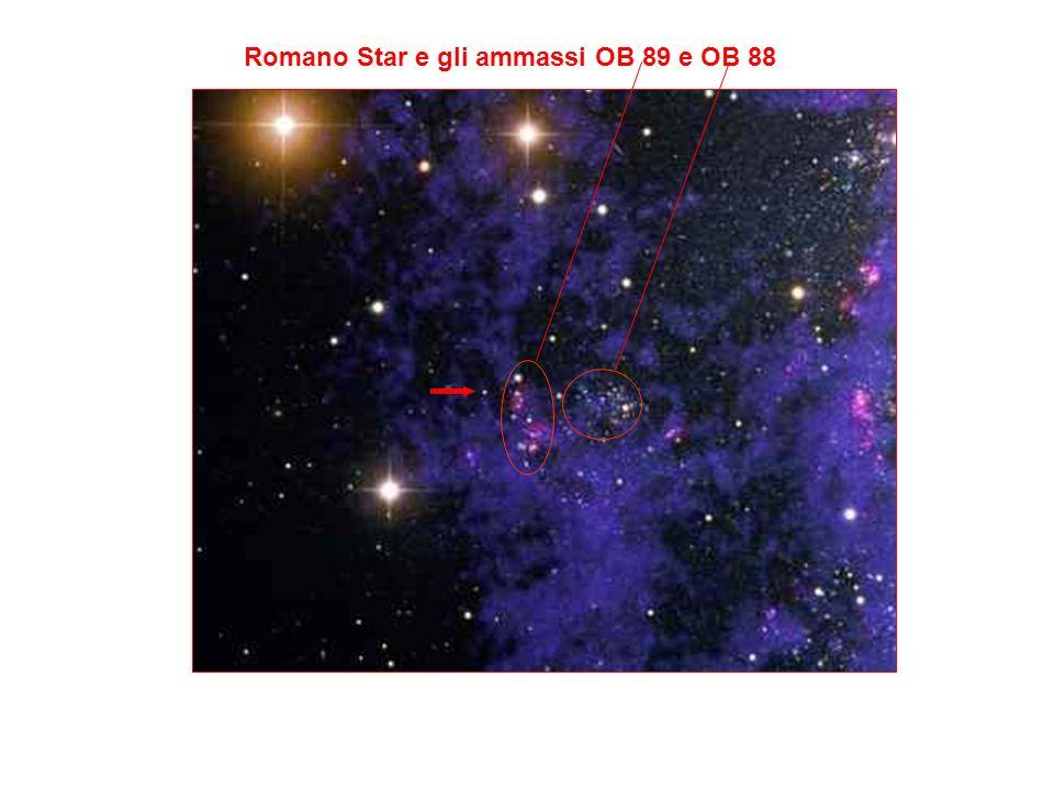 Romano Star e gli ammassi OB 89 e OB 88