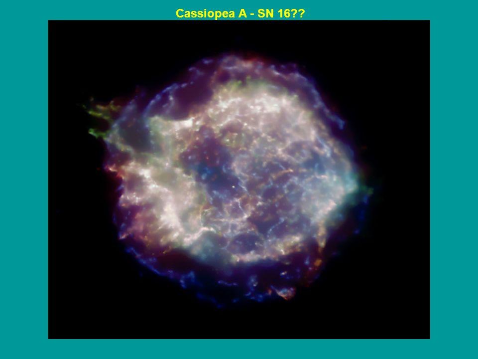 Cassiopea A - SN 16