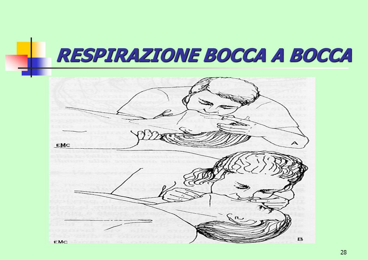 28 RESPIRAZIONE BOCCA A BOCCA
