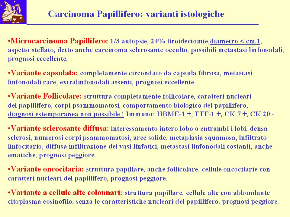 Esame Istologico n° 2531.05 Paziente A.M.I.