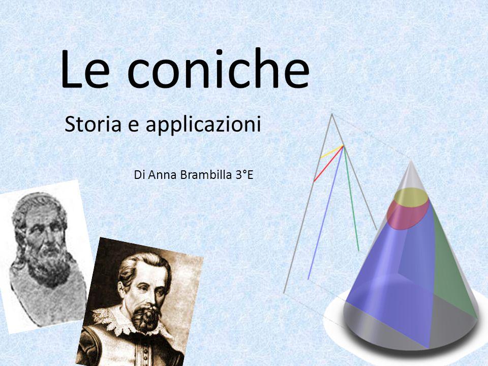 Le coniche Storia e applicazioni Di Anna Brambilla 3°E