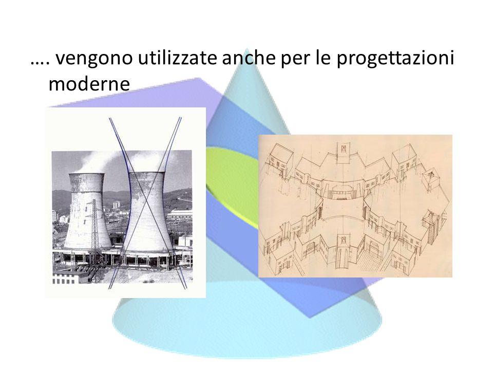 …. vengono utilizzate anche per le progettazioni moderne