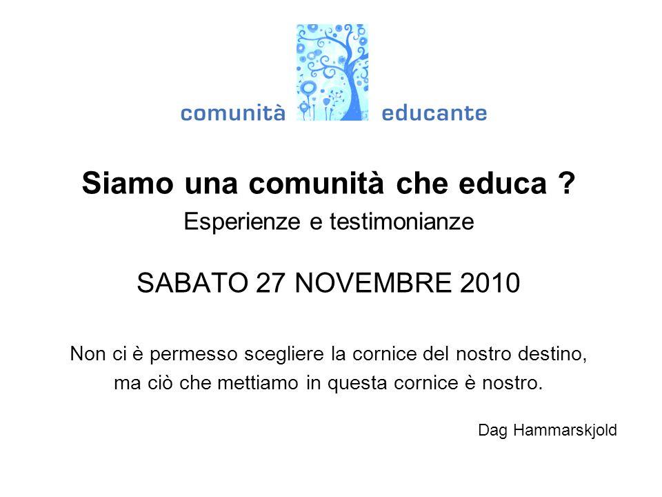 Progetto INCROCI COMUNI...
