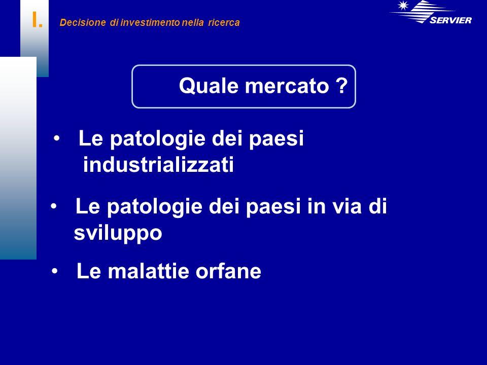 IV. Marketing farmaceutico I mercati principali