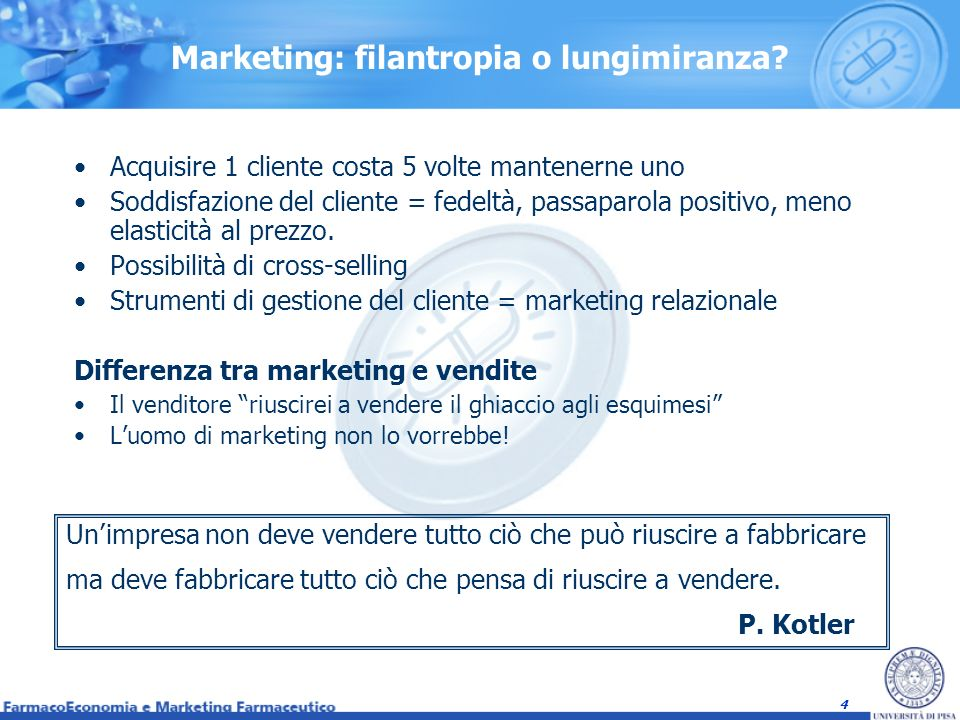 5 Limpostazione aziendale Or.al Marketing Or.
