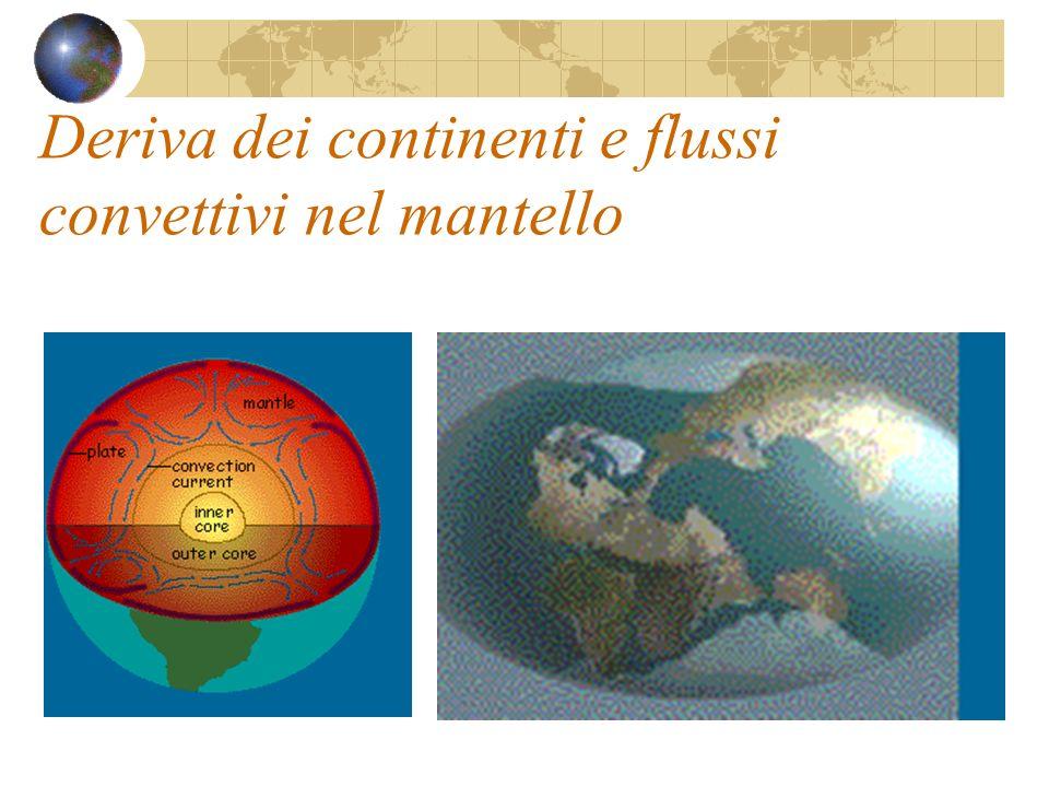 Deriva dei continenti e flussi convettivi nel mantello