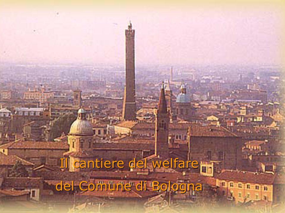 Università degli Studi di Bologna Ingegneria Informatica 1 Il cantiere del welfare del Comune di Bologna