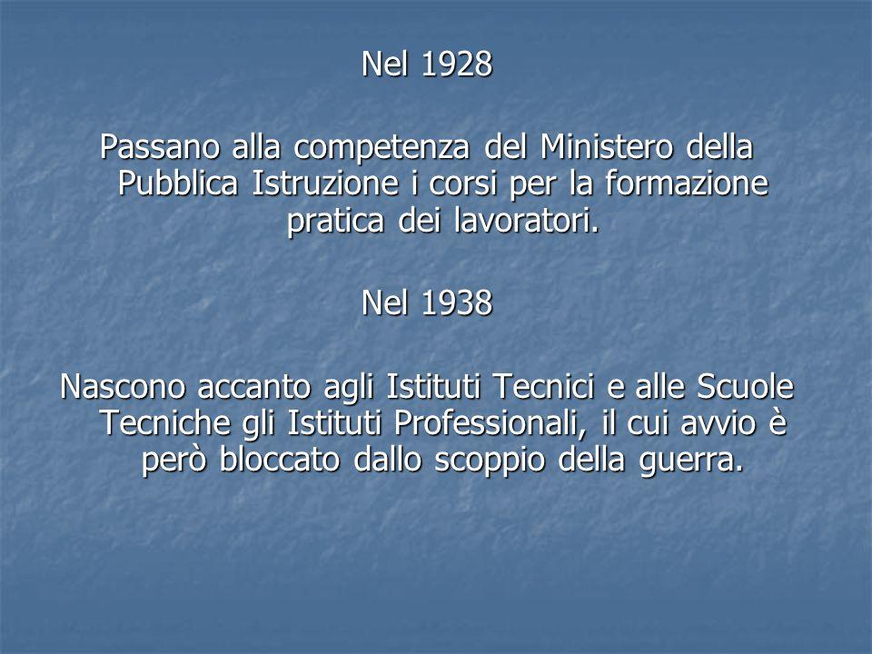 Istruzione e formazione professionale Vengono Organizzati organici raccordi tra i percorsi degli istituti tecnico- professionalie i percorsi di istruzione e formazione professionale, finalizzati al conseguimento di qualifiche e diplomi professionali.( art 13, comma 1 quiques).