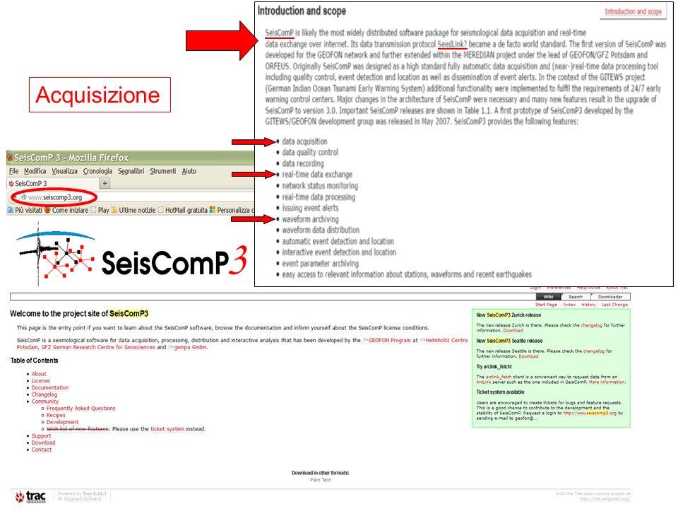 Acquisizione (REFTEK) PC: cartman user: rais $HOME / REFTEK /RTCC/ /RTPD/ /gestione_reftek.sh cd REFTEK./gestione_reftek.sh alle opzioni: 1) START 2) STOP 3) ….