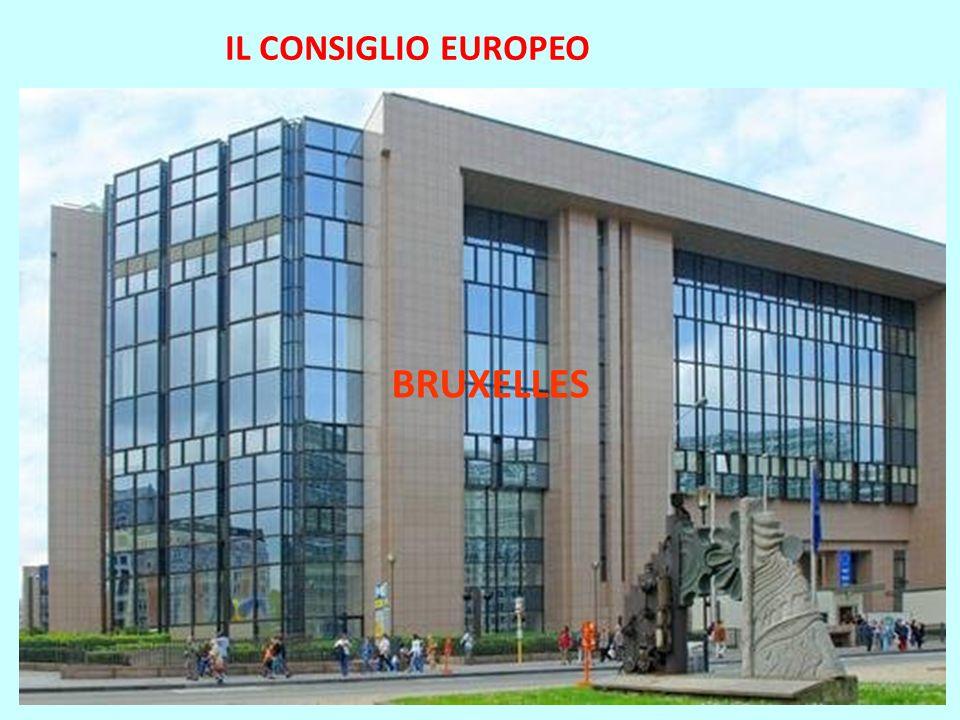 IL CONSIGLIO EUROPEO BRUXELLES