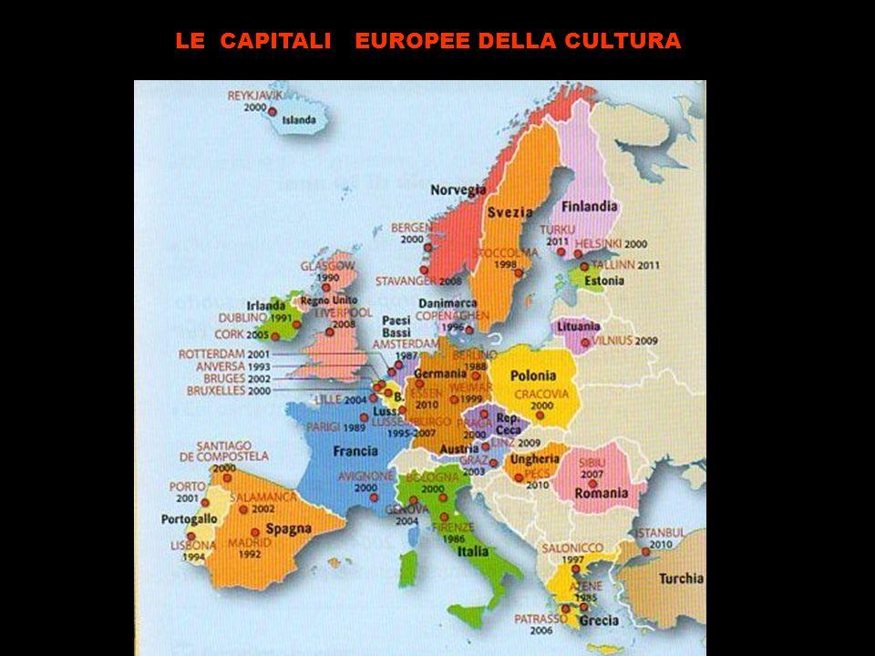 LE CAPITALI EUROPEE DELLA CULTURA