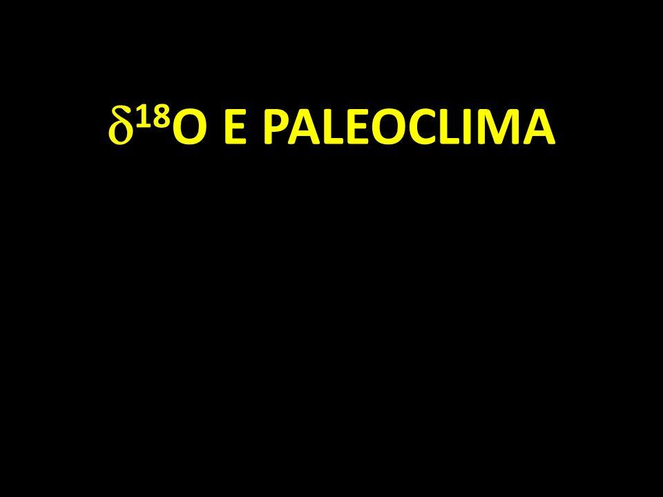 18 O E PALEOCLIMA