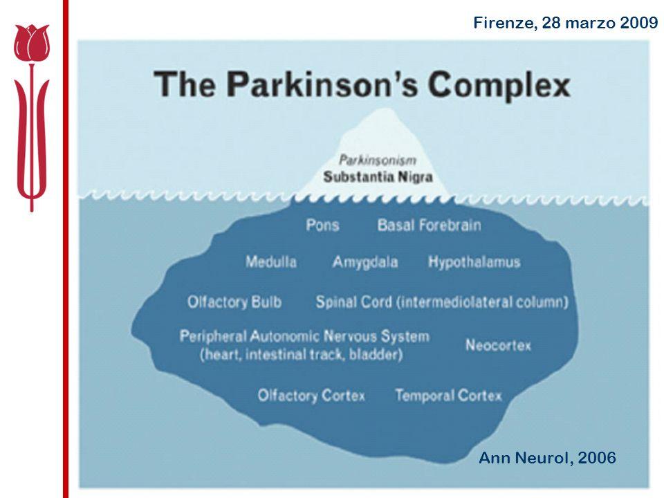 Epidemiologia della Malattia di Parkinson Curr Opin Neurol, 2008