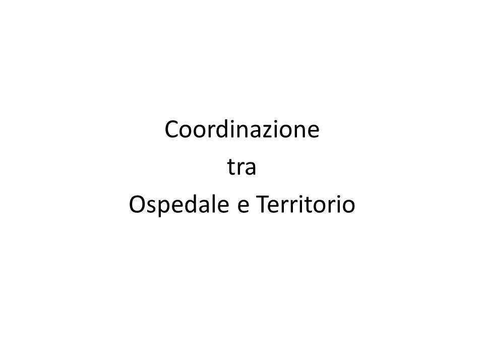 Coordinazione tra Ospedale e Territorio
