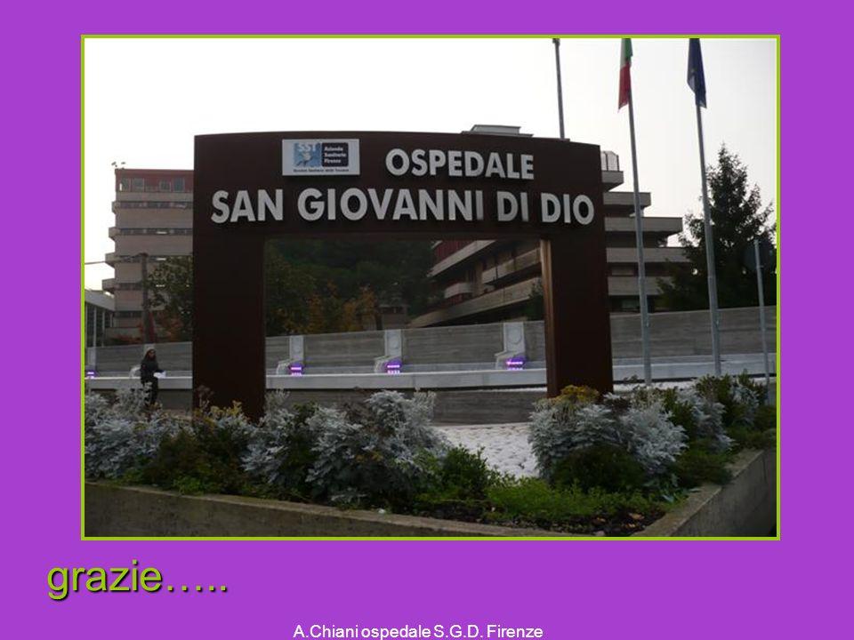 A.Chiani ospedale S.G.D. Firenze grazie…..