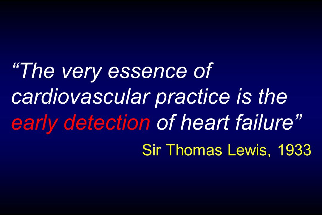 Definizioni Difficile svuotamento (1933 Lewis) Elevata pressione di riempimento, ma inadeguata circolazione (1950 Wood) Inadeguatezza verso le richieste metaboliche (1980 Braunwald) Comune a tutte le malattie cardiache quando inadeguata è la pompa (1983 Denolin) Caratteristici pattern emodinamici renali, neurologici e ormonali (1985 Poole-Wilson) Sindrome con < tolleranza allesercizio, aritmie e < sopravvivenza (1988 Cohn) Presenza di sintomi, evidenza obiettiva di disfunzione e risposta ad un adeguato trattamento (1995 ESC)