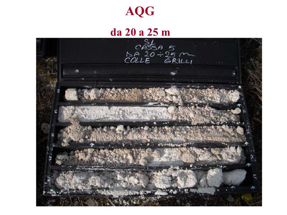 AQG da 20 a 25 m