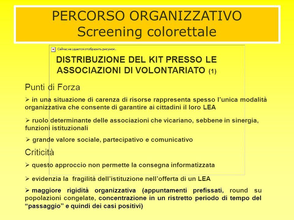 in una situazione di carenza di risorse rappresenta spesso lunica modalità organizzativa che consente di garantire ai cittadini il loro LEA Criticità