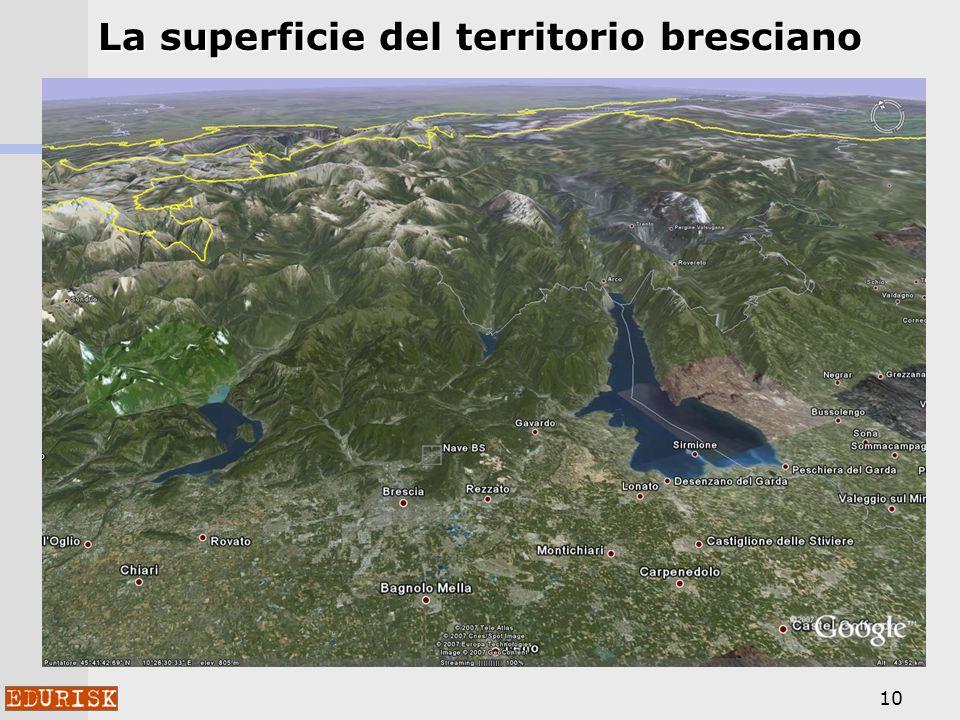 10 La superficie del territorio bresciano