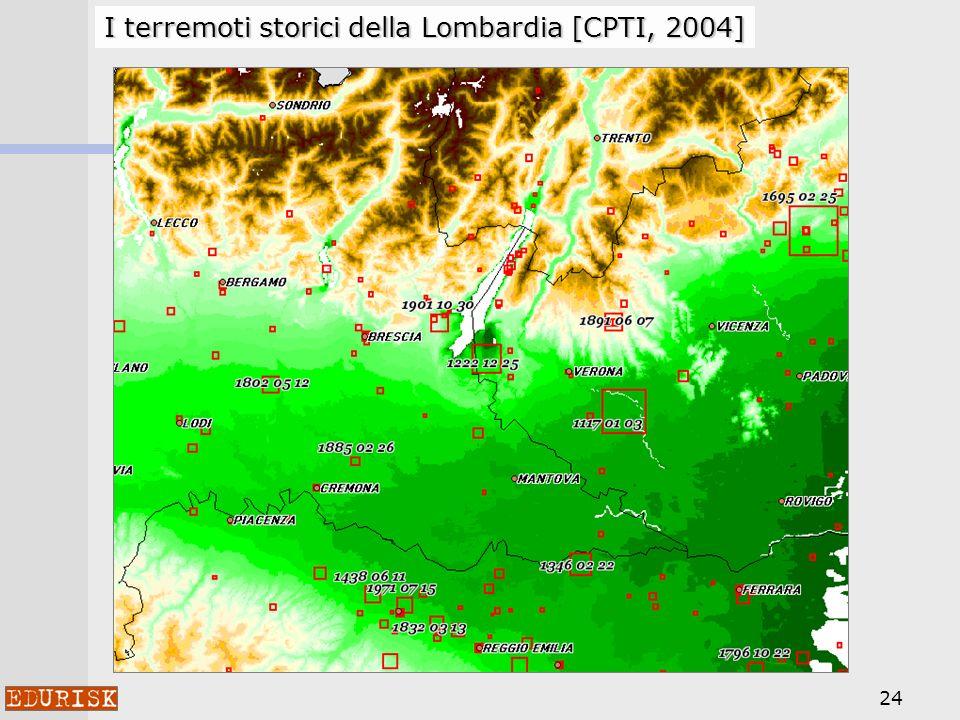 24 I terremoti storici della Lombardia [CPTI, 2004]
