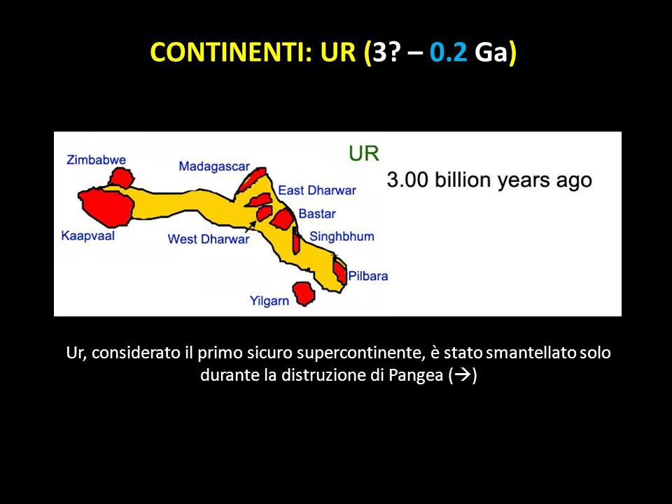 CONTINENTI: UR (3.