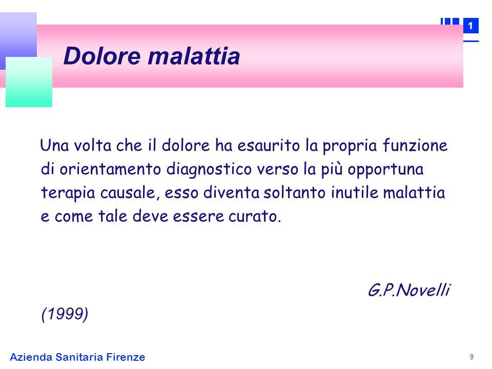 1 Azienda Sanitaria Firenze 10