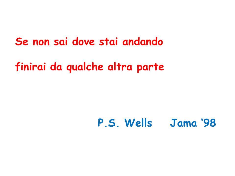 P.S. Wells Jama 98 Se non sai dove stai andando finirai da qualche altra parte